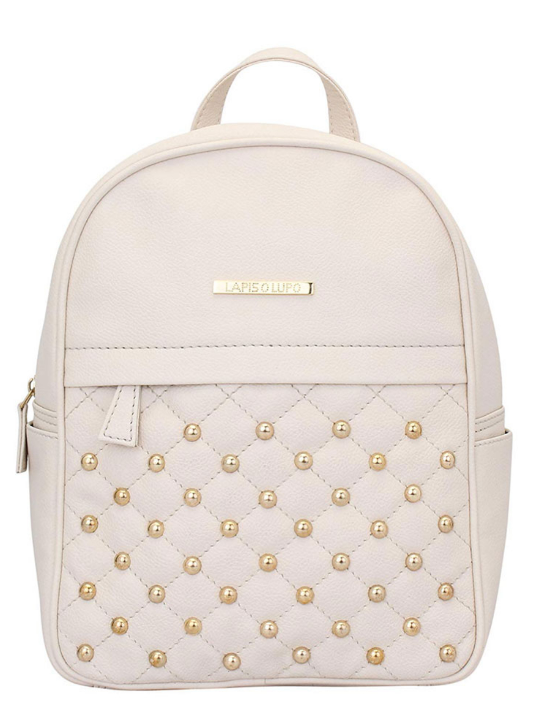 Synthetic  Dong Repeat Women Backpack - Off White