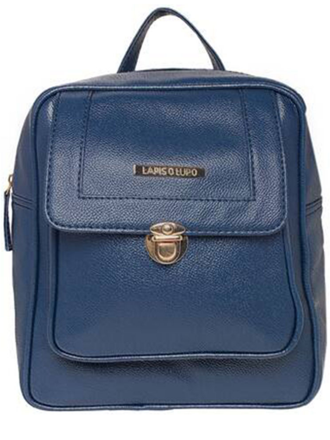 Synthetic  Teal Women Backpack - Blue