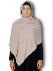Soft Knitted Icra Fabric Stoles With Strips In Ash