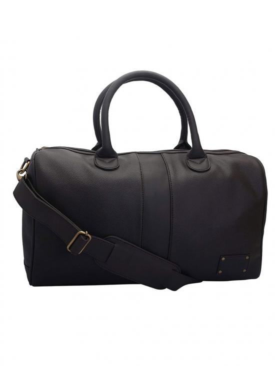 Synthetic Brun Unisex Duffle - Brown
