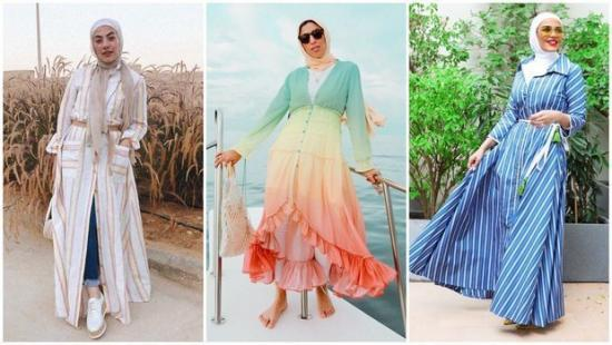 best-ideas-on-how-to-wear-shirt-dresses-with-hijab