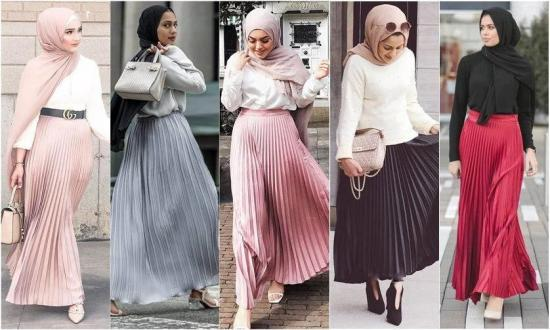 how-to-pair-pleated-metallic-skirts-with-hijab-2020